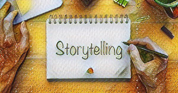 tell stories as comedian