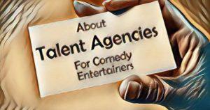 comedian talent agencies